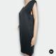 2ND DAY Ärmelloses Damen Kleid mit transparentem Einsatz Gr:36