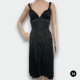 JUST CAVALLI DAMEN KLEID SCHWARZES COCKTAILKLEID GR:I T.40 DE.34