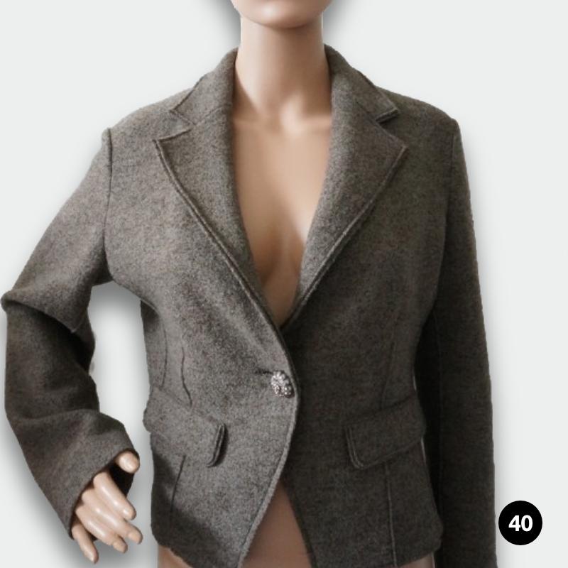 bbj studio damen blazer gr e 40 secondvogue. Black Bedroom Furniture Sets. Home Design Ideas